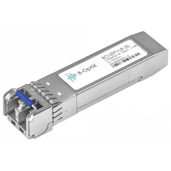 Модуль B-OptiX SFP+ оптический, дальность до 20км (11dB), 1310нм