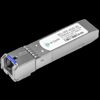 Модуль B-OptiX SFP WDM, дальность до 20км (14dB), 1310нм