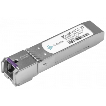 Модуль B-OptiX SFP WDM, дальность до 20км (14dB), 1550нм