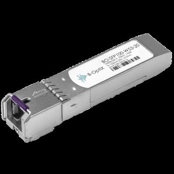 Модуль B-OptiX SFP WDM, дальность до 20км, 1550нм, 100Mb