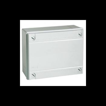 Коробка распределительная 300х220х120 мм с крышкой для открытого монтажа, без сальников, IP 55 (ДКС)