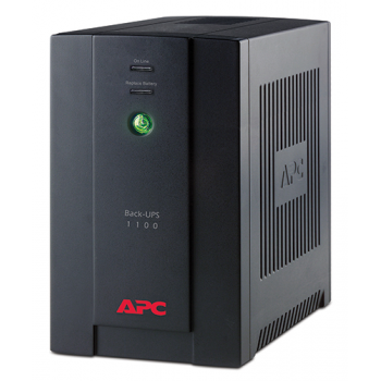 Источник бесперебойного питания Back-UPS, 660Вт/1.1кВА, 230В, BX1100CI-RS
