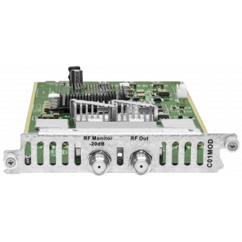 Модуль восьмиполосного QAM-модулятора C01MOD для DCP-3000MF