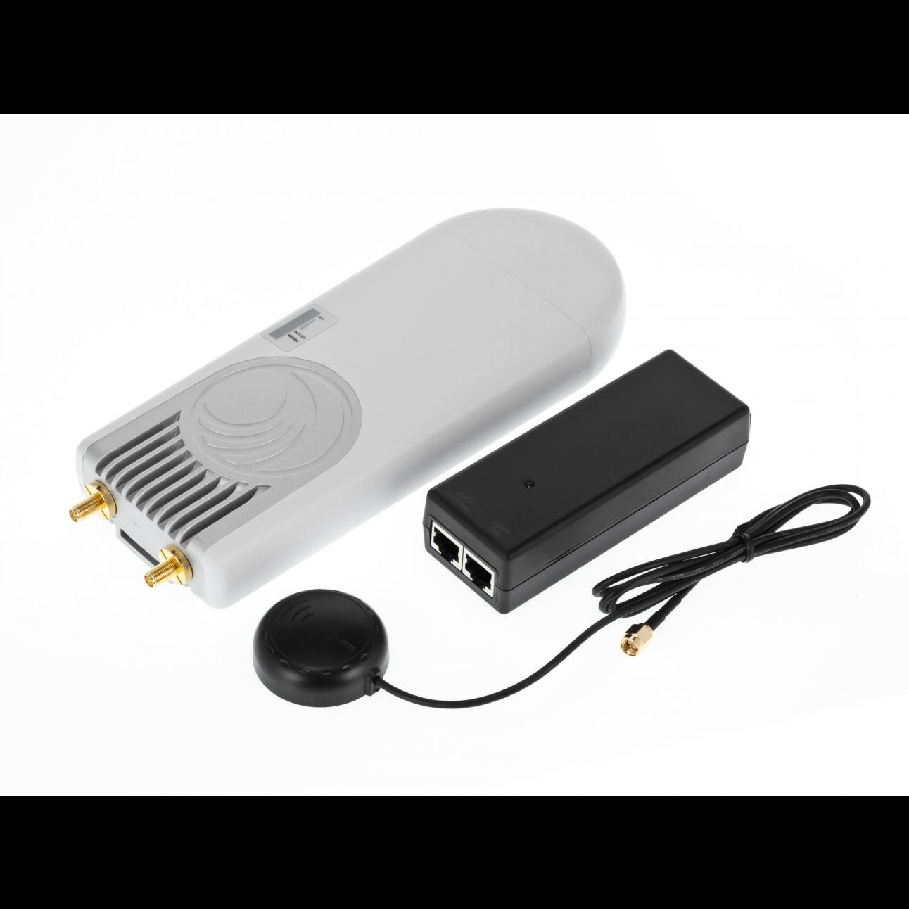 Cambium Базовая станция ePMP 1000 с GPS с синхронизацией, 5 ГГц, в комплекте с блоком питания и GPS-антенной (EU cord)