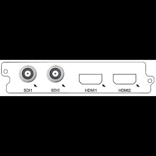 Карта 2-канального H.264 SD/HD кодера C150D-HD Sumavision