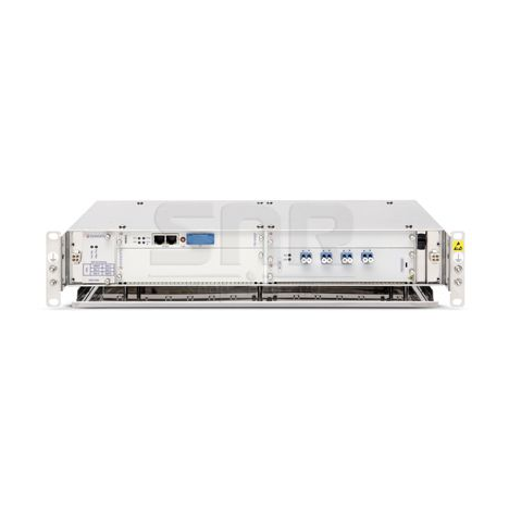 """Модульное шасси Ekinops 360 19"""" 2U с пятью модульными слотами и платой управления"""