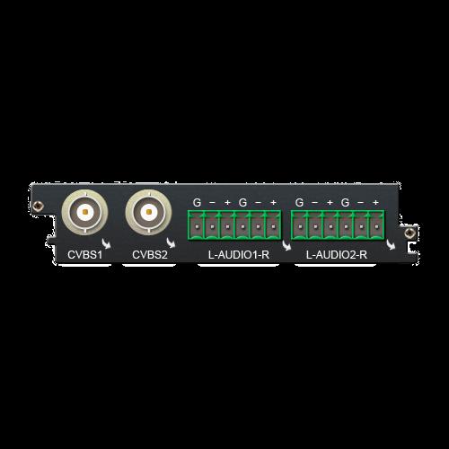 Двухканальная карта декодирования C201AS Sumavision