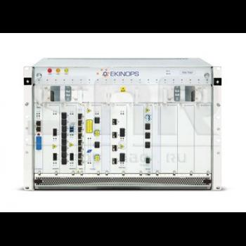 """Модульное шасси Ekinops 360 19"""" 7U с двадцатью модульными слотами и платой управления"""