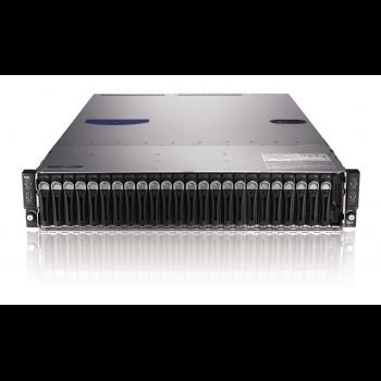 "Сервер Dell PowerEdge C6220, 8 процессоров Intel Xeon 6C E5-2640 2.50GHz, 128GB DRAM, 24 отсека под HDD 2.5"""