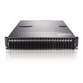 Сервер Dell PowerEdge C6220, 8 процессоров Intel Xeon 6C E5-2640 2.50GHz, 128GB DRAM, 24 отсека под HDD 2.5""