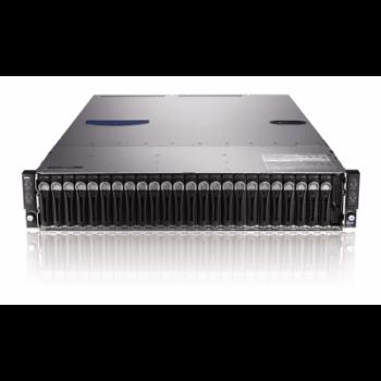 "Сервер Dell PowerEdge C6220, 8 процессоров Intel Xeon 8C E5-2680 2.70GHz, 128GB DRAM, 24 отсека под HDD 2.5"""