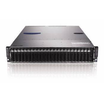 Сервер Dell PowerEdge C6220, 8 процессоров Intel Xeon 8C E5-2680 2.70GHz, 128GB DRAM, 24 отсека под HDD 2.5""