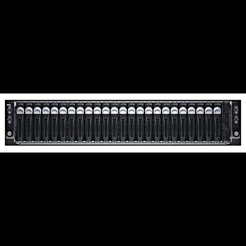 Сервер DELL PowerEdge C6320, до 8 процессоров Intel Xeon E5-2600v3/v4, 24SFF, 2x1400W PSU