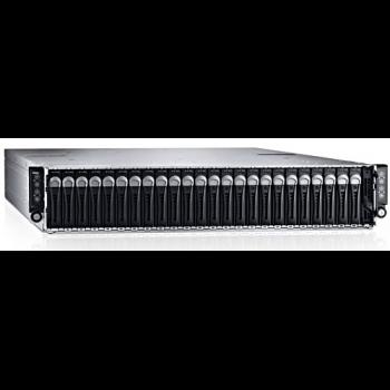 "Сервер Dell PowerEdge C6320, 8 процессоров Intel Xeon 10C E5-2650v3 2.30GHz, 128GB DRAM, 24 отсека под HDD 2.5"""
