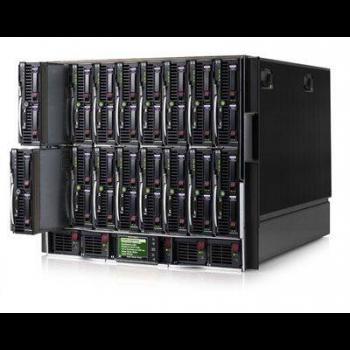 Блейд-система HP c7000, 8 блейд-серверов BL460c G7: 2 процессора Intel 6C X5670 2.93GHz, 48GB DRAM, 2x300GB SAS