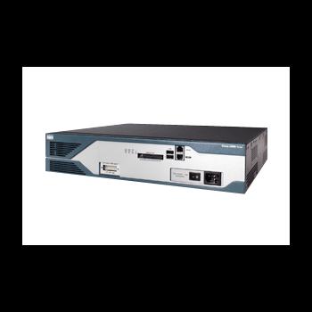 Маршрутизатор Cisco 2851 (некондиция, отсутствует лицевая панель, не работает кнопка извлечения CF памяти)