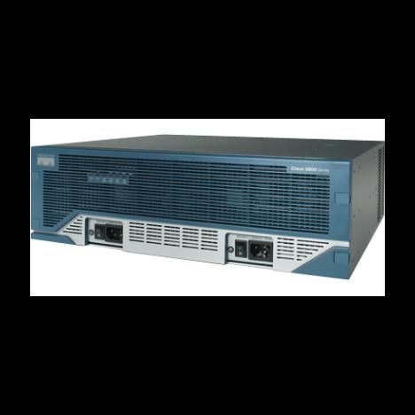 Маршрутизатор Cisco 3845 (некондиция, сломана кнопка извлечения cf)