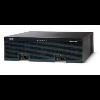Маршрутизатор Cisco 3945 (некондиция, отсутствует болт крепления модуля SPE и ручки извлечения модуля SPE)