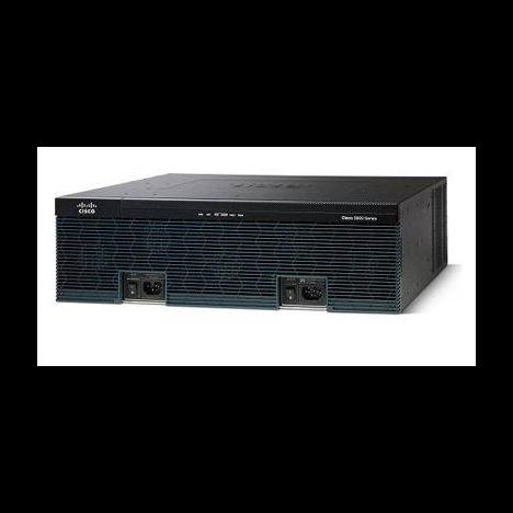 Маршрутизатор Cisco 3945E (некондиция, отсутствует одно из двух креплений модуля расширения)