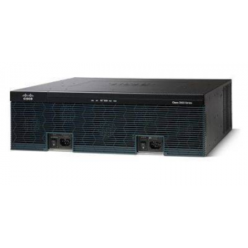 Маршрутизатор Cisco 3945E (некондиция, установлен SPE-200, косметические повреждения, коррозия и налет на шасси)