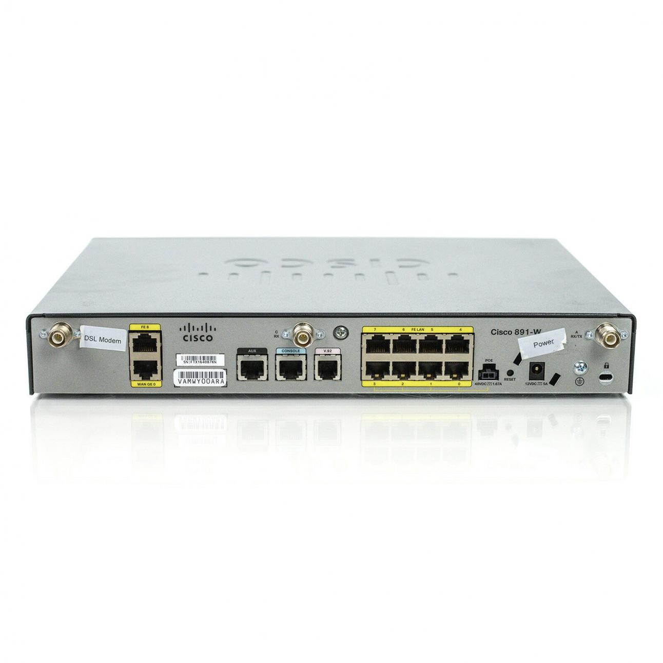 Маршрутизатор CISCO891W-AGN-A-K9