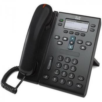 IP-телефон Cisco CP-6941 (некондиция, cломан пластик под клавишей сброса)