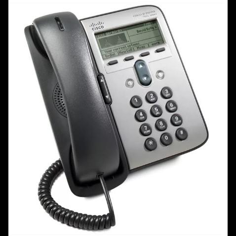 IP-телефон Cisco CP-7912G (некондиция, пятно на экране)