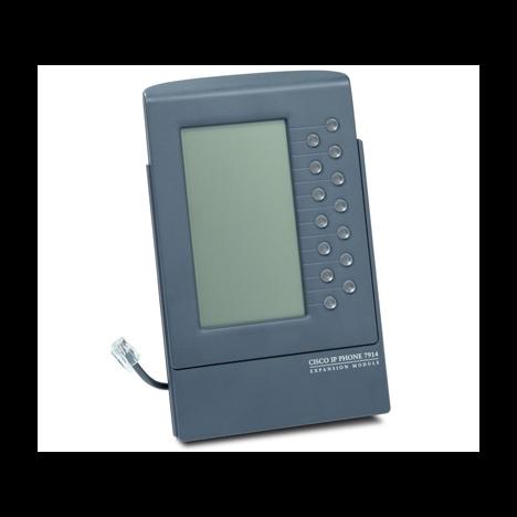 Блок расширения Cisco CP-7914 для телефонных аппаратов Cisco CP-7900 (некондиция, пятно, полосы на эране)