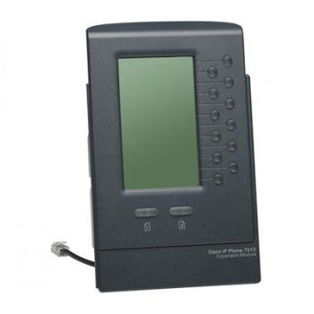 Блок расширения Cisco CP-7915 для телефонных аппаратов Cisco CP-7900 (некондиция, скол кнопки)