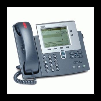 IP-телефон Cisco CP-7940G (некондиция, пятно на дисплее, сломан держатель трубки)