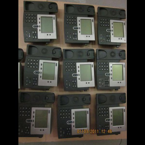 IP-телефон Cisco CP-7940G (некондиция, царапины на дисплее, косметические повреждения)
