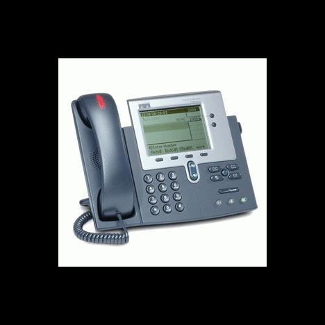 IP-телефон Cisco CP-7941G (некондиция, пятно на экране)