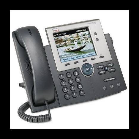 IP-телефон Cisco CP-7945G (некондиция, пятно на дисплее)