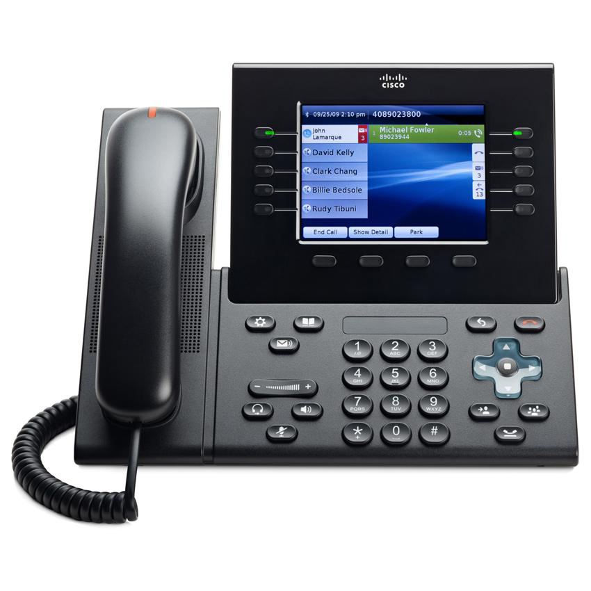 IP-телефон Cisco CP-8961 (с тонкой трубкой)