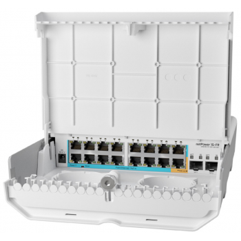 Коммутатор netPower 15FR MikroTik CRS318-1Fi-15Fr-2S-OUT