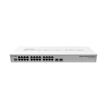 Коммутатор Cloud Router Switch Mikrotik CRS326-24G-2S+RM