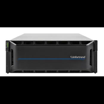 Система хранения данных Infortrend CS3024G (1xCtrl, до 24xHDD, 2xSAS12G внеш. порт, 4x16GB, 4x10G порта iSCSI)