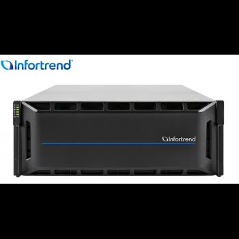 Система хранения данных Infortrend CS4024G (1xCtrl, до 24xHDD, 2xSAS12G внеш. порт, 4x16GB, 4x10G порта iSCSI)