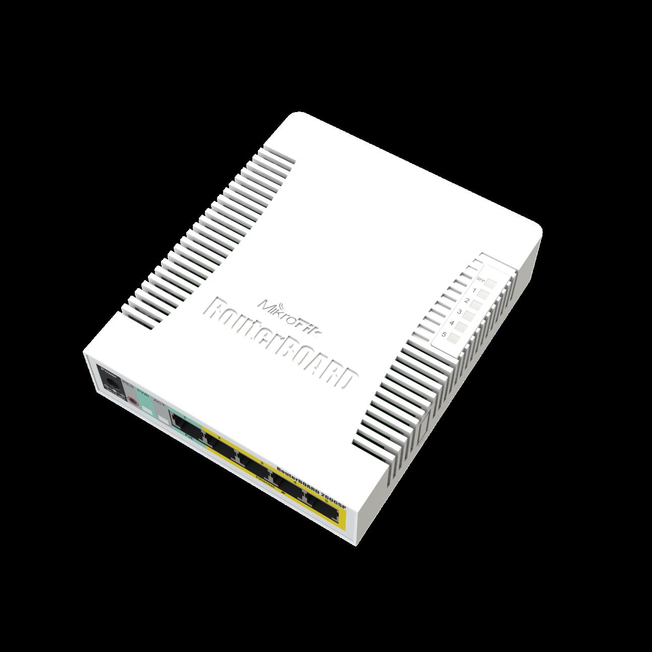 Коммутатор MikroTik CSS106-1G-4P-1S