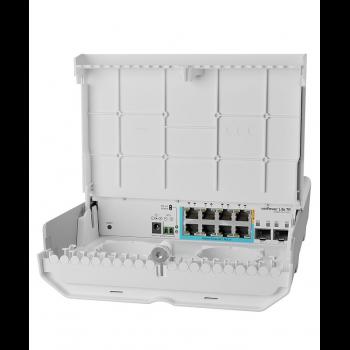 Коммутатор Cloud Smart Switch Mikrotik CSS610-1Gi-7R-2S+OUT is SwOS