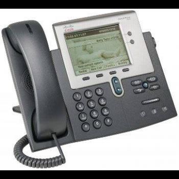 IP-телефон Cisco CP-7942G (некондиция, пятно на экране)