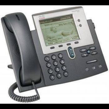 IP-телефон Cisco CP-7942G (некондиция, царапины на экране)