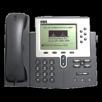 IP-телефон Cisco CP-7960G (некондиция, царапины на экране)