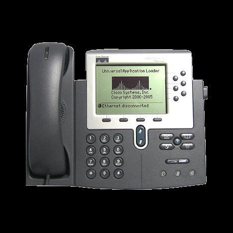 IP-телефон Cisco CP-7960G (некондиция, сломан пластик под клавишей сброса)