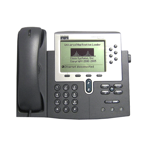 IP-телефон Cisco CP-7960G (некондиция, пятно на экране)
