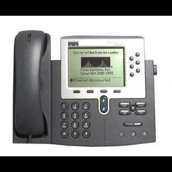 IP-телефон Cisco CP-7961G (некондиция, косметические повреждения)