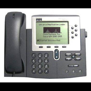 IP-телефон Cisco CP-7961G (некондиция, пятно на экране)
