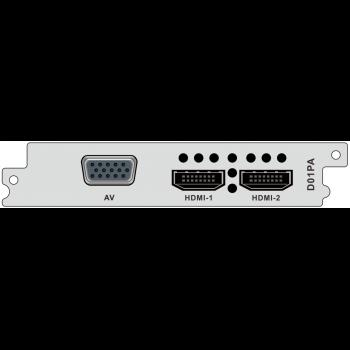 Модуль двухпоточного H.264/MPEG-2 декодера HDMI и CVBS D01PA для DCP-3000MF