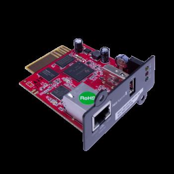 Модуль удаленного мониторинга SNMP DA807 для ИБП