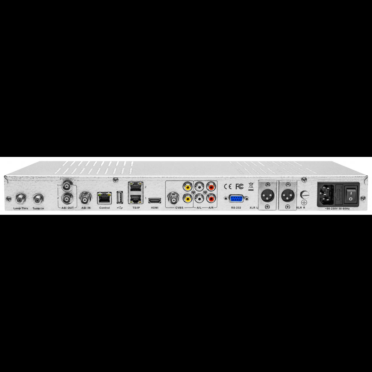 Приёмник цифровой PBI DCH-3200P-10A